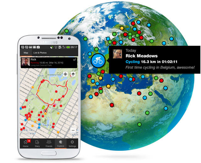 Sports Tracker - the original sports app with maps and GPS tracker