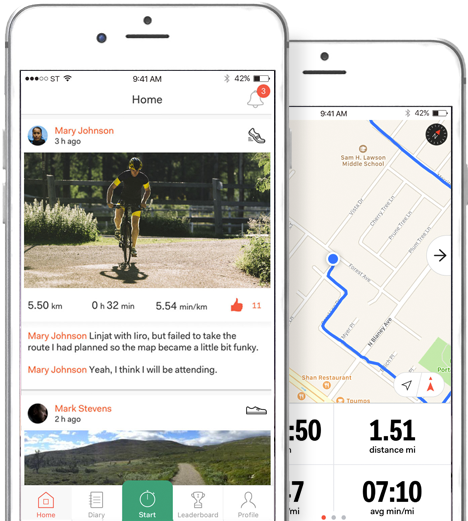 dd4d7aa828 Sports Tracker - the original sports app with maps and GPS tracker ...